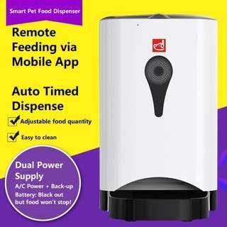 Smart Pet Food Dispenser (mobile app supported)
