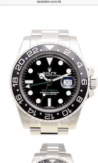Rolex 116710 GMT 黑面大熱 全新購自瑞士