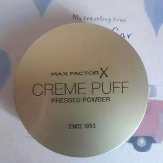 Max Factor X Creme Puff Pressed Powder 05 Translucent