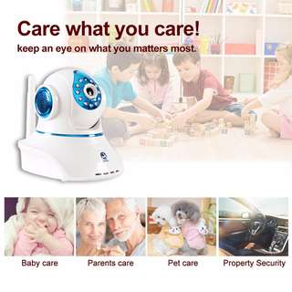Wireless IP Camera (Free Delivery, memory card and Connection)