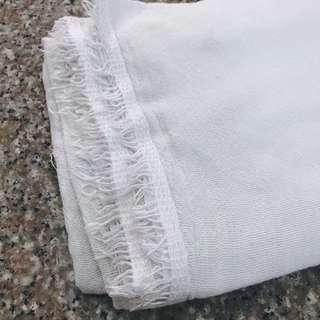 Ilocos Handwoven Blanket (White)