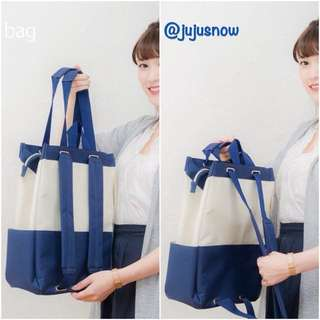 New! Japan Delde Two-way Backpack Tote Bag