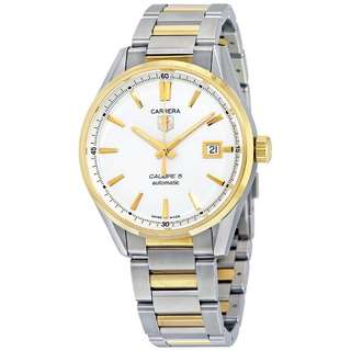 Jam Tangan Original Tag Heuer Carrera Calibre 5 Automatic 39mm Yellow Gold Stainless Steel