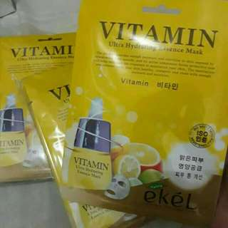 Ekel Vitamin Ultra Hydrating Essence Face Mask