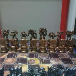 Hasbro Parker Brothers Transformers Movie Chess Set