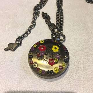 日本 Scolar Cat 掛錶 原宿 Franche Lippee Watch 陀錶 錶