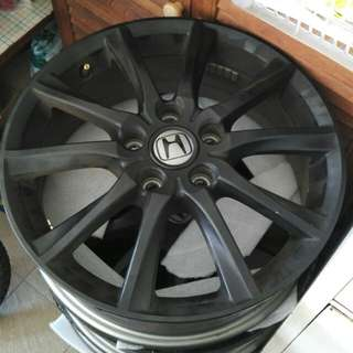 "17"" Rims Honda Stream RSZ Facelift Version"