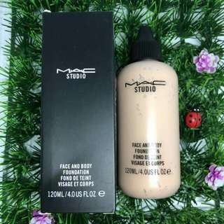 Face and body foundation