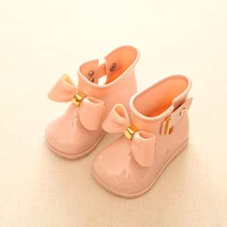 Baby boots in pink (12.8cm inner length)