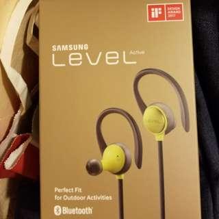 全新未開行貨 Samsung Level Active 無線藍牙耳機