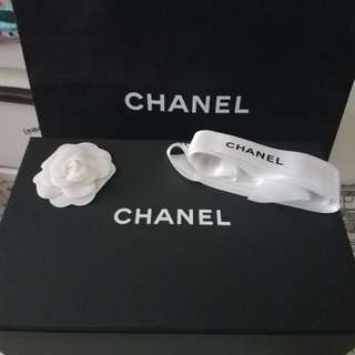 Chanel Magnetic box and paper bag 手袋磁石盒/紙袋/山茶花