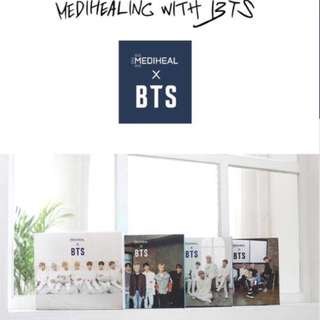 ONHAND READY TO SHIP BTS MEDIHEAL SET