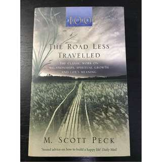 The Road Less Traveled A New Psychology of Love, Traditional Values and Spiritual Growth By M. Scott Peck Paperback
