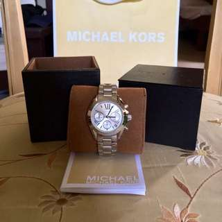Michael Kors Bradshaw Silver-tone Ladies' Watch