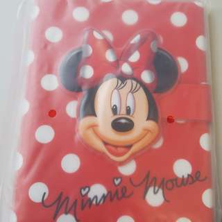 Disneyland Minnie Notebook