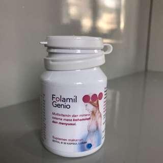 Jual Multivitamin Ibu Hamil dan Menyusui merk Folamil Genio