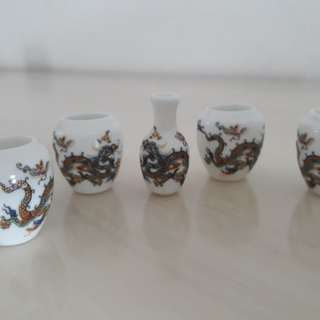 Mata Puteh Cup - Dragon Design