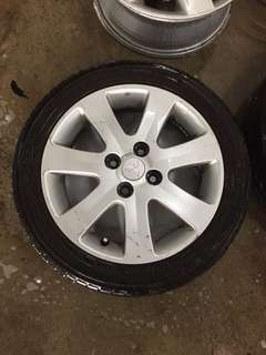 """15"""" spare sport rim and tyre"""