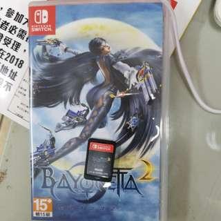 Switch遊戲 bayoneta 2 魔女2