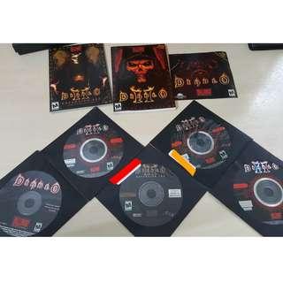 Original diablo cds and game books
