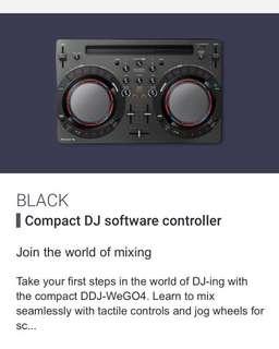 DDJ WEGO4 black
