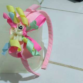 Bando little pony pink homemade