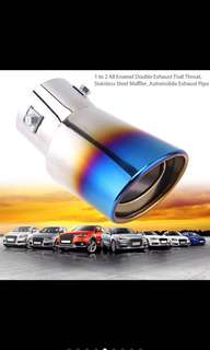 Durable stainless steel single hole exhaust pipe