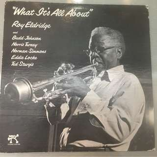 Roy Eldridge ‎– What It's All About, Vinyl LP, Demo Copy, Pablo Records ‎– 2310-766, 1976, USA