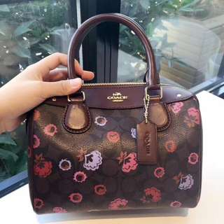 Coach Mini Bennett Satchel with Primrose Floral Print