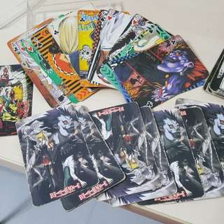 DEATH NOTE POKER CARDS