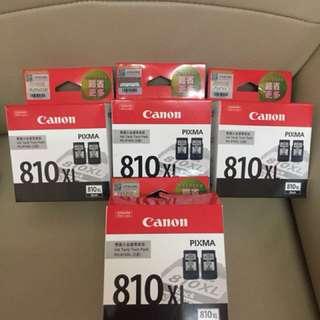 全新canon PG-810xl2盒裝黑色