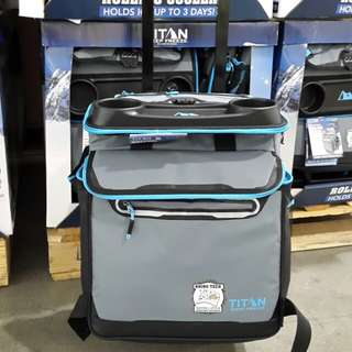 Titan Collapsible Rolling Cooler