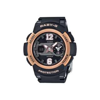 Casio Baby-G New Sporty Series Black Resin Strap Watch