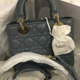 New Lady Dior Small with bedges