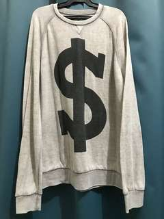 21 MEN Dollar sign sweater ‼️ Medium size