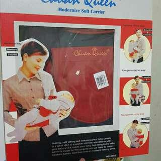 Gendongan carrier chuan queen merah
