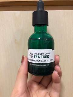 The Body Shop Tea Tree serum n the body shop tea tree oil
