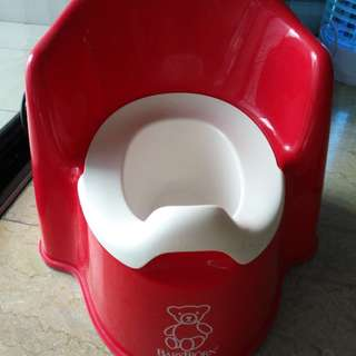 Baby Bjorn toilet potty or bowl