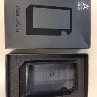 ak240 皮套 黑色 black leather case
