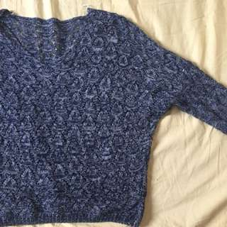 FREE Batwing Knitted Top