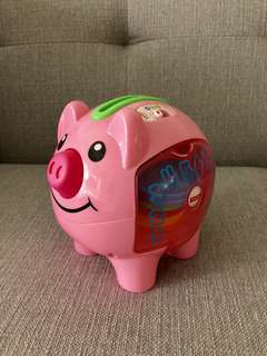 Fisher Price laugh and learn Piggy Bank
