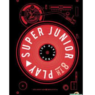 ONHAND SEALED Super Junior - Play (Black Suit ver)
