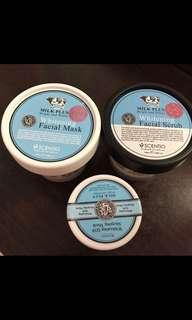 Whitening Q10 Facial mask, facial scrub, sleeping mask