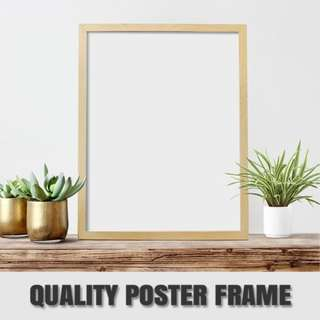 PINE WOOD PICTURE FRAME Pictures Available in all sizes