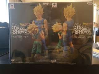 Dragon Ball Z Dramatic showcase Vol .1 & 2