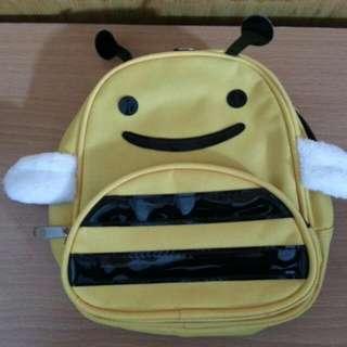 100%new迷你小蜜蜂背囊 小背包 小揹袋