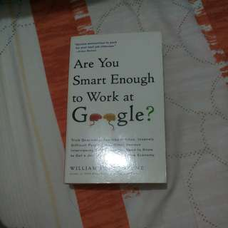 Are you smart enough to work at google? #umn2018