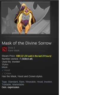 Dota 2 Divine Sorrow