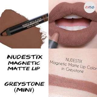 BN Mini Nudestix Magnetic Matte Lip Colour 2.5g - Greystone