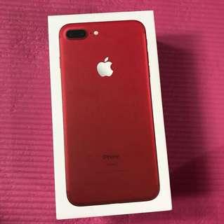iPhone 7plus紅色機吉盒